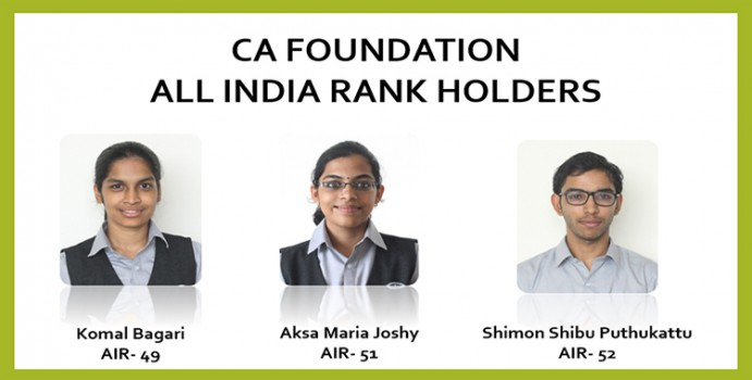 Congratulations Model 1 F&T  2019-22 for faring well in Chartered Accountancy Foundation Exams