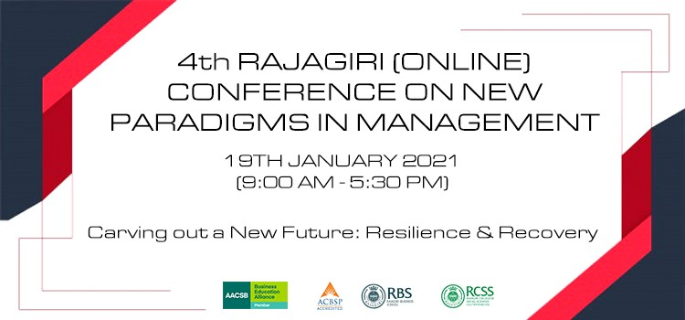 4th RAJAGIRI (ONLINE) CONFERENCE