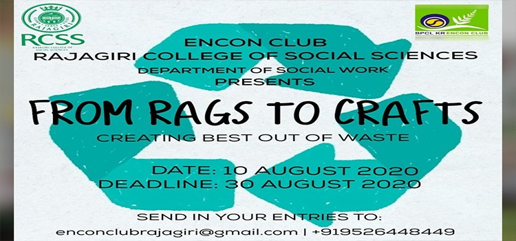 ENCON - FROM RAGS TO CRAFTS